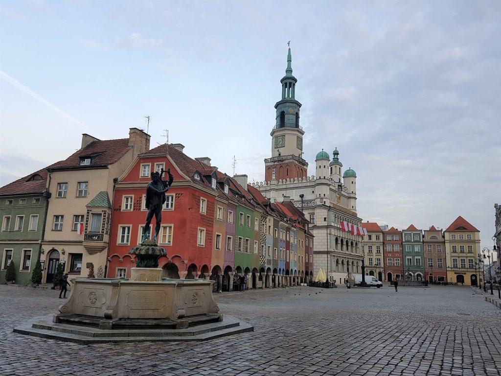 oude markt poznan polen